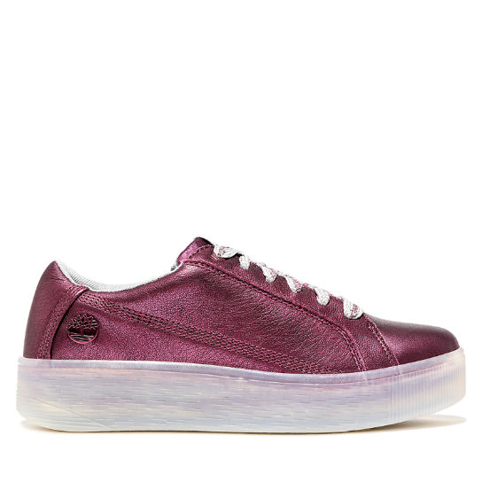 Marblesea Leather Sneaker for Men in Purple | Timberland