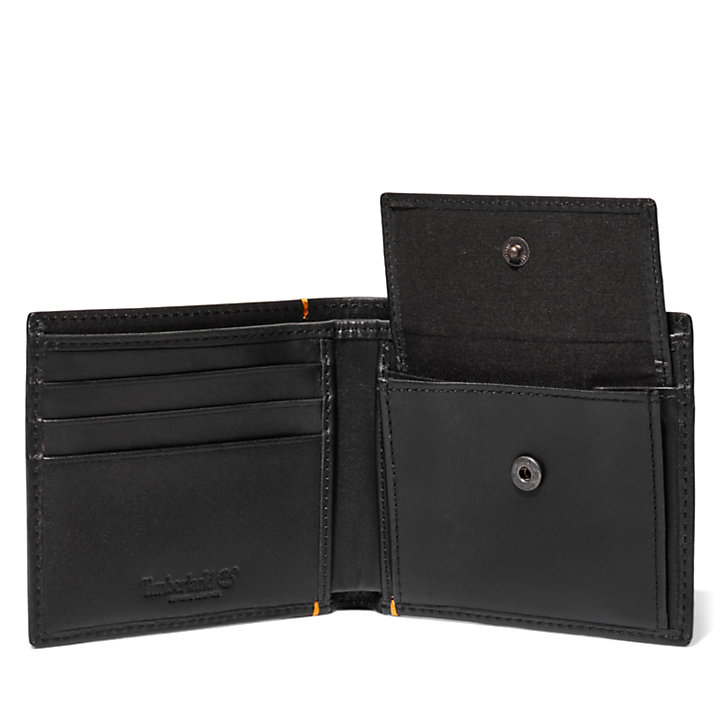 Alpine View Wallet for Men in Black-