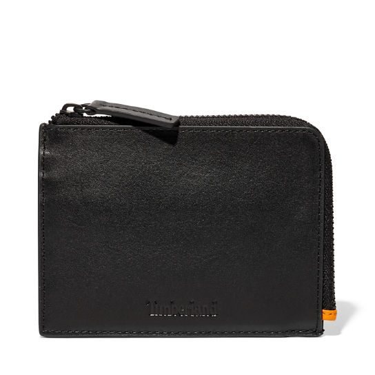 Alpine View Leather Wallet for Men in Black | Timberland