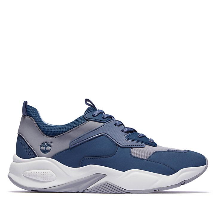 Sneaker da Donna in Pelle Delphiville in blu chiaro-