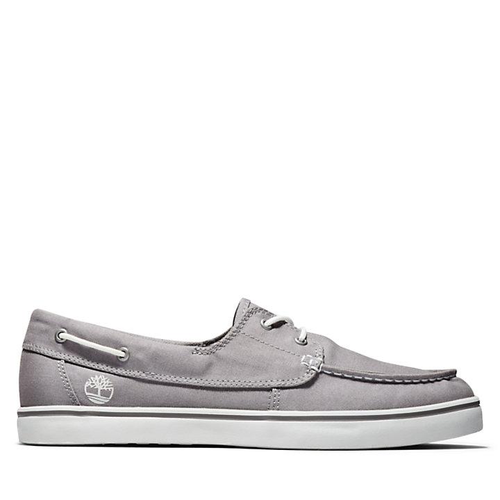 Chaussure bateau Skape Park pour homme en gris clair-