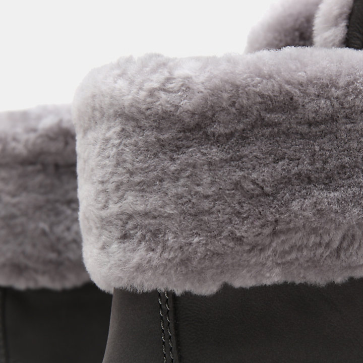 Courmayeur Valley 6 Inch Shearling Boot for Women in Grey-
