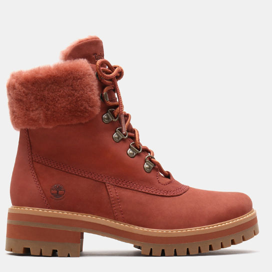 Courmayeur Valley 6 Inch Shearling Boot for Women in Brown | Timberland