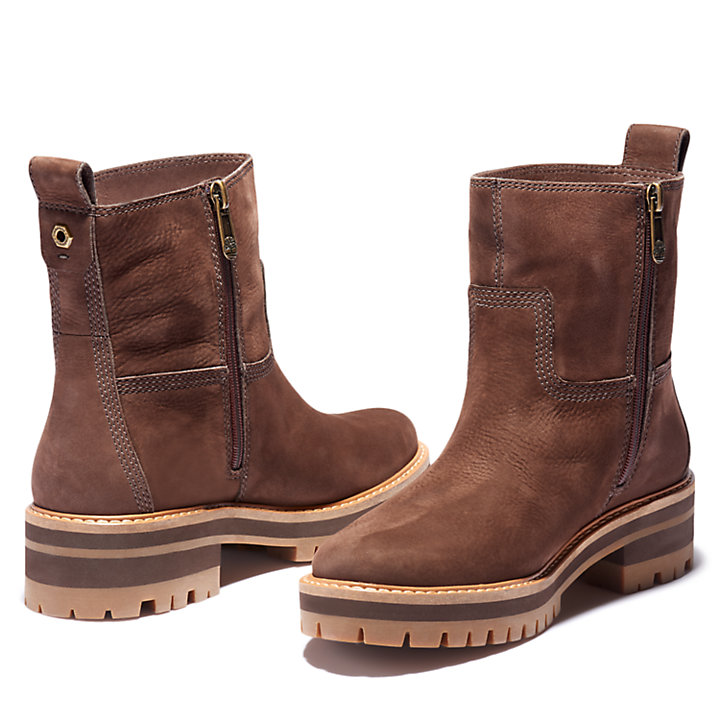 Courmayeur Valley Warm Boot for Women in Brown-