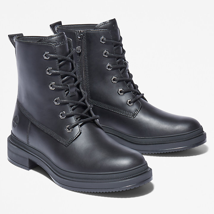 Lisbon Lane 6 Inch Boot for Women in Black-