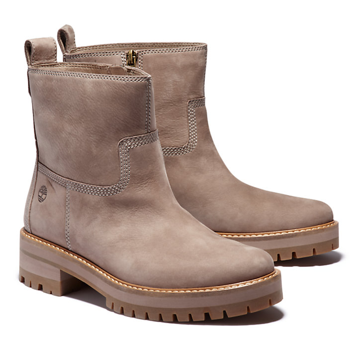Courmayeur Lined Boot for Women in Greige-