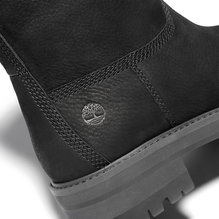 Courmayeur Lined Boot for Women in Black-