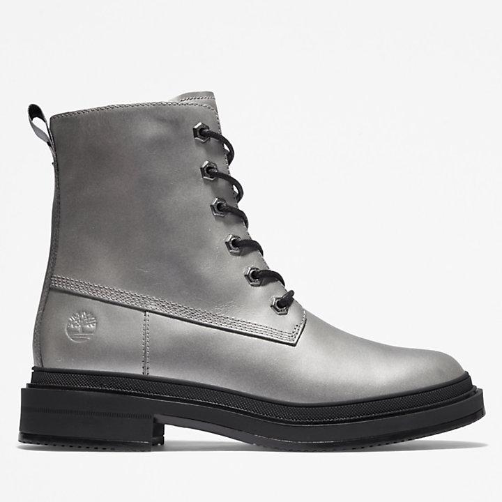 6-inch Boot Lisbon Lane pour femme en argent-