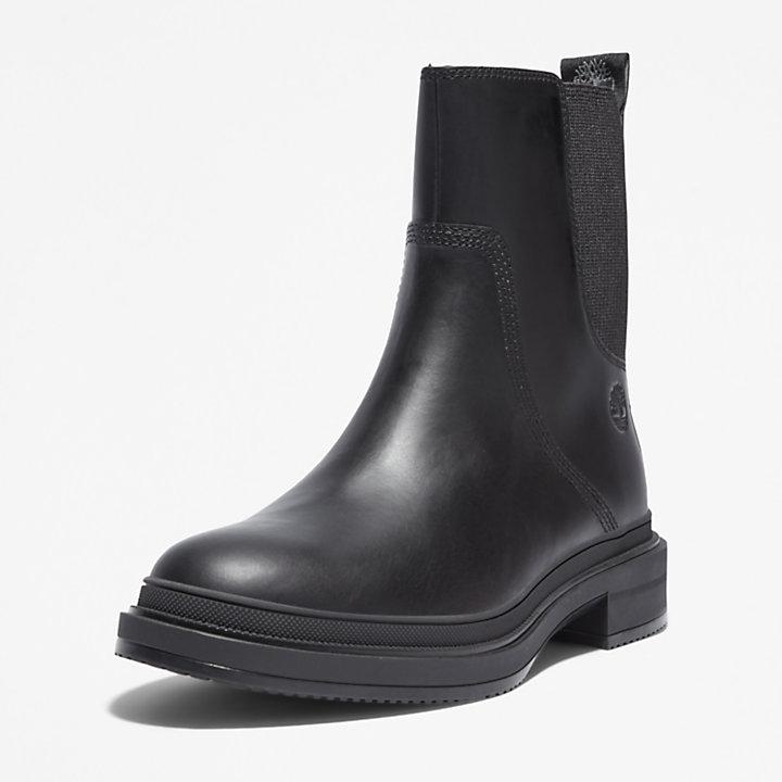 Lisbon Lane Chelsea Boot for Women in Black-