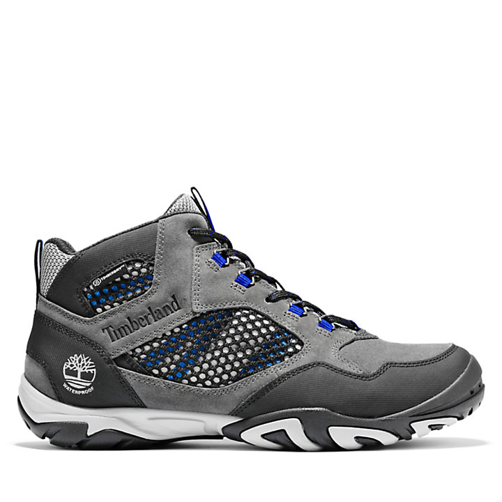 Crestridge Mid Hiker for Men in Grey-