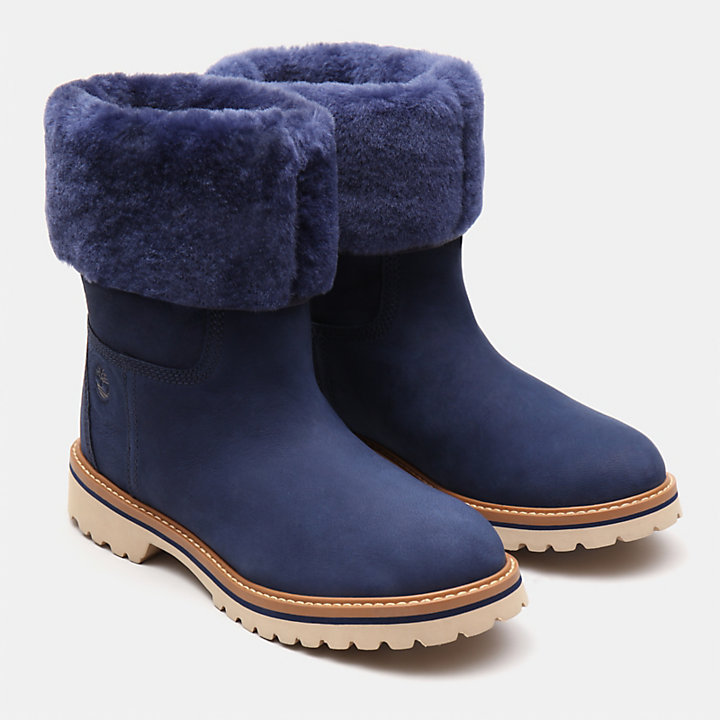 Chamonix Valley Shearling Boot for Women in Blue-
