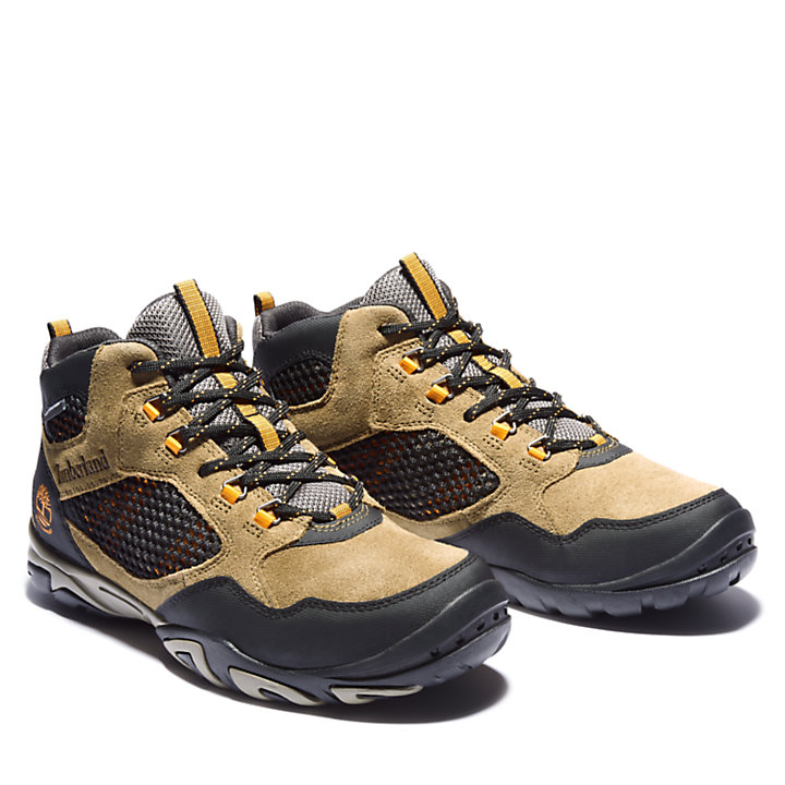 Crestridge Mid Hiker for Men in Brown-