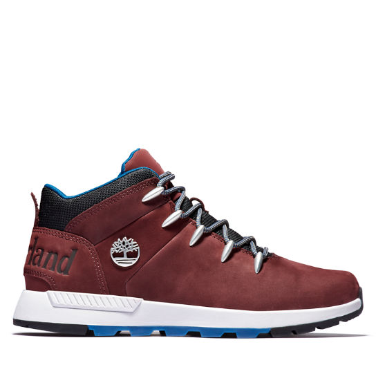 Sprint Trekker Mid Boot for Men in Burgundy | Timberland