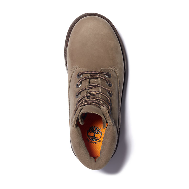 6 Inch Premium Boot for Junior in Greige-