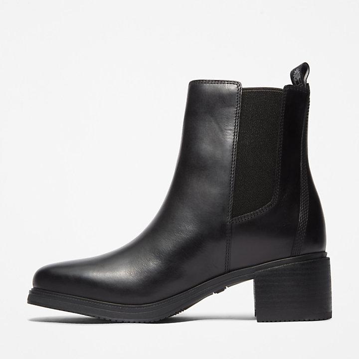 Botas Chelsea Dalston Vibe para Mujer en color negro-