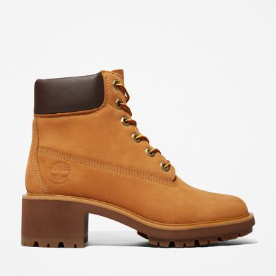 Kinsley+6-Inch+Boot+voor+Dames+in+geel