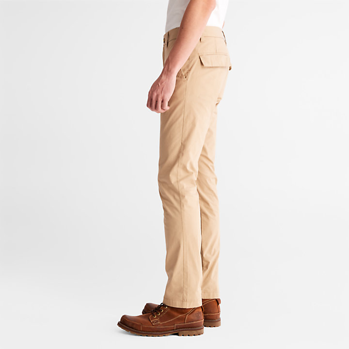 Chino stretch Sargent Lake pour homme en beige-