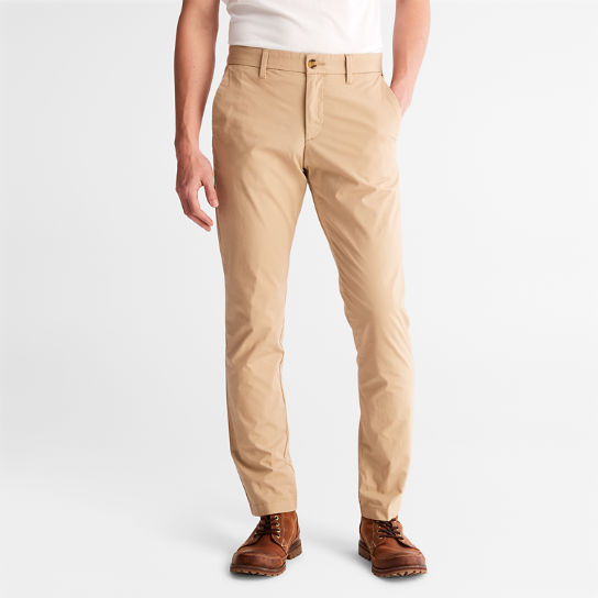 Sargent Lake Stretch Chinos for Men in Beige | Timberland