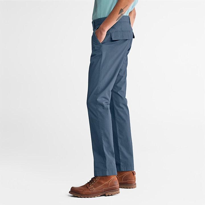 Pantaloni Chino da Uomo Elasticizzati Sargent Lake in blu-