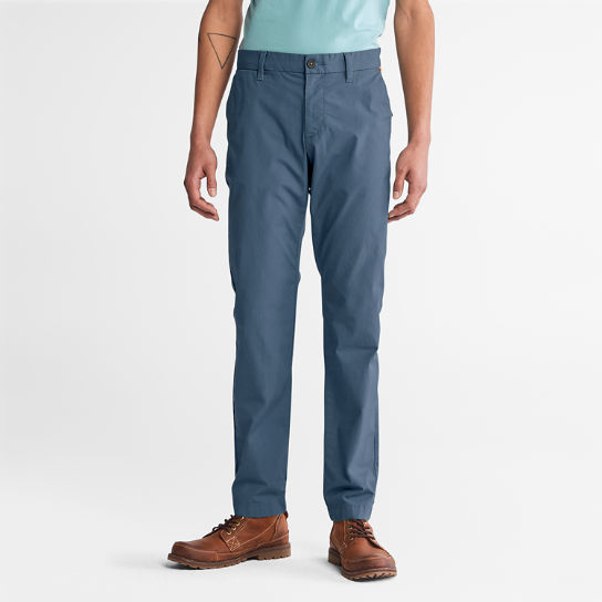 Sargent Lake Stretch Chinos for Men in Blue | Timberland