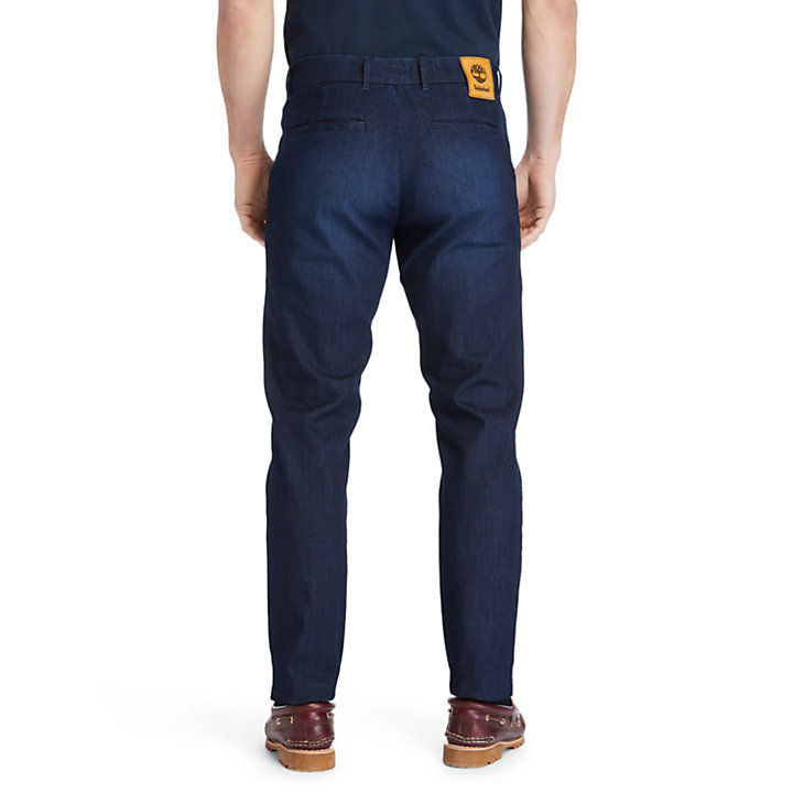 Tacoma Lake Tapered Jeans for Men in Navy-