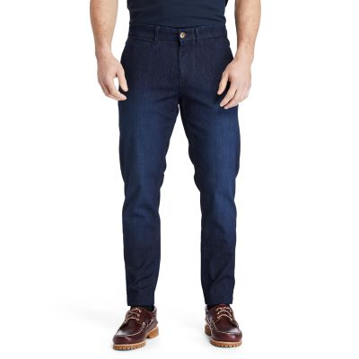 Tacoma+Lake+Tapered+Jeans+for+Men+in+Navy