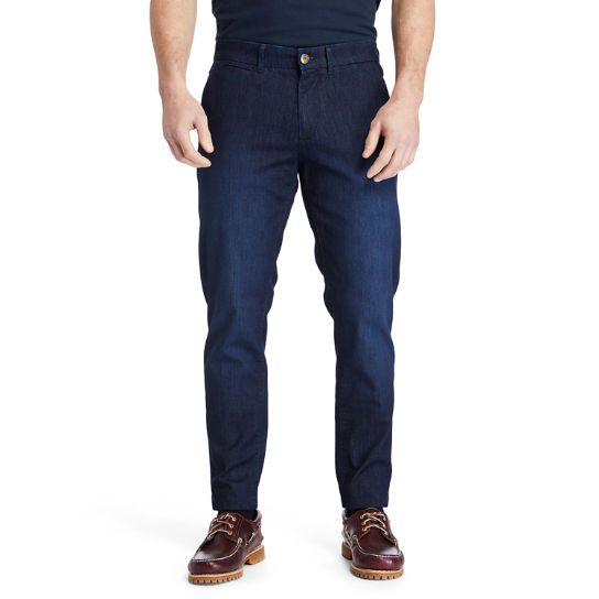 Tacoma Lake Tapered Jeans for Men in Navy | Timberland
