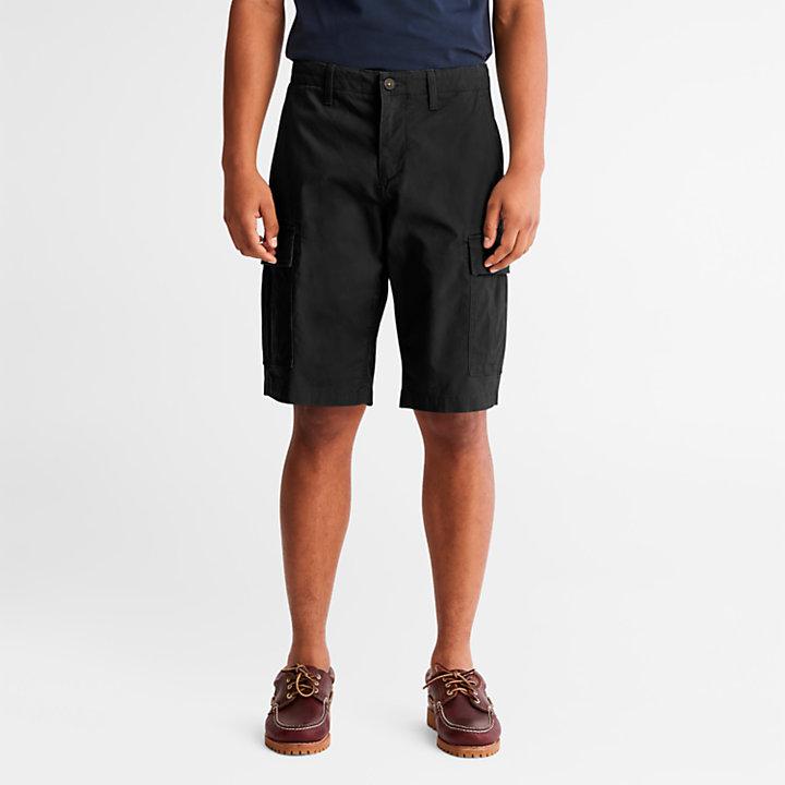 Pantalón Corto Cargo para Hombre en color negro-