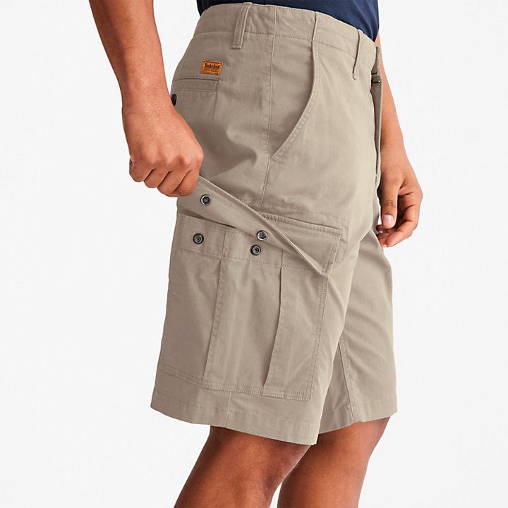 Cargo Shorts for Men in Beige-