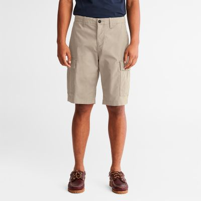 Cargo+Shorts+for+Men+in+Beige