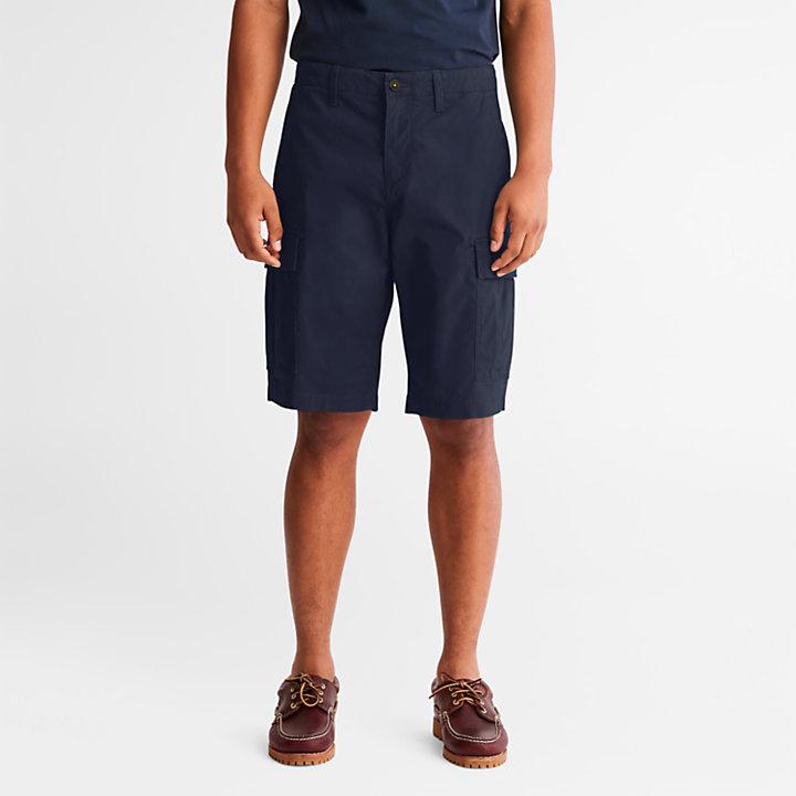 Cargo Shorts for Men in Navy-