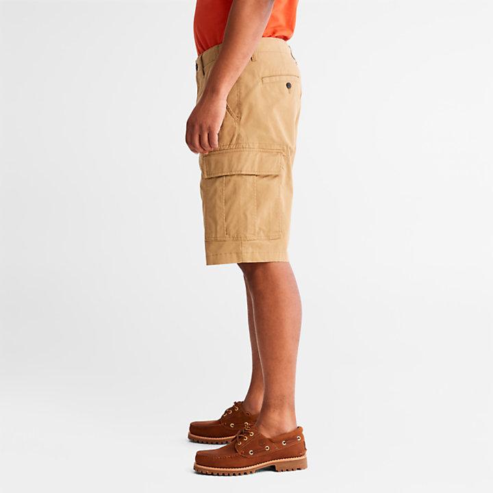 Pantalón Corto Cargo para Hombre en caqui-