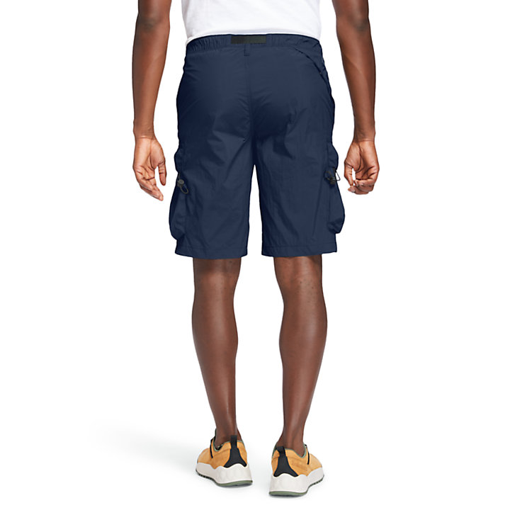 Field Trip Quick-Dry Short voor heren in marineblauw-