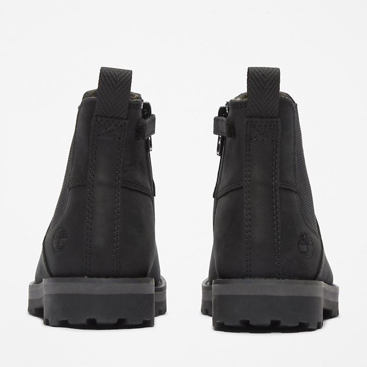 Courma Kid Chelsea Boot voor Kids in zwart-
