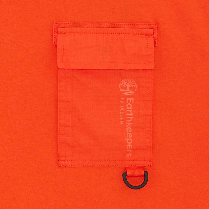 T-shirt à poche Earthkeepers® by Raeburn en orange-