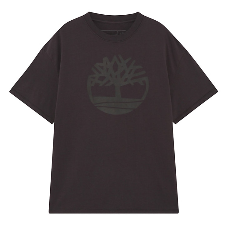 Earthkeepers® by Raeburn Unisex Logo T-Shirt in Dark Grey-