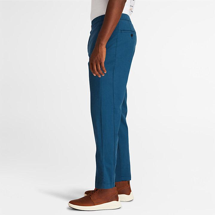 Pantalon fuselé Re-Confort EK+ pour homme en bleu-
