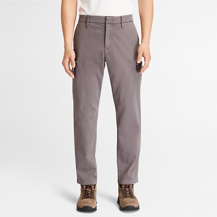 Ultrastretch Cargo Trousers for Men in Grey-