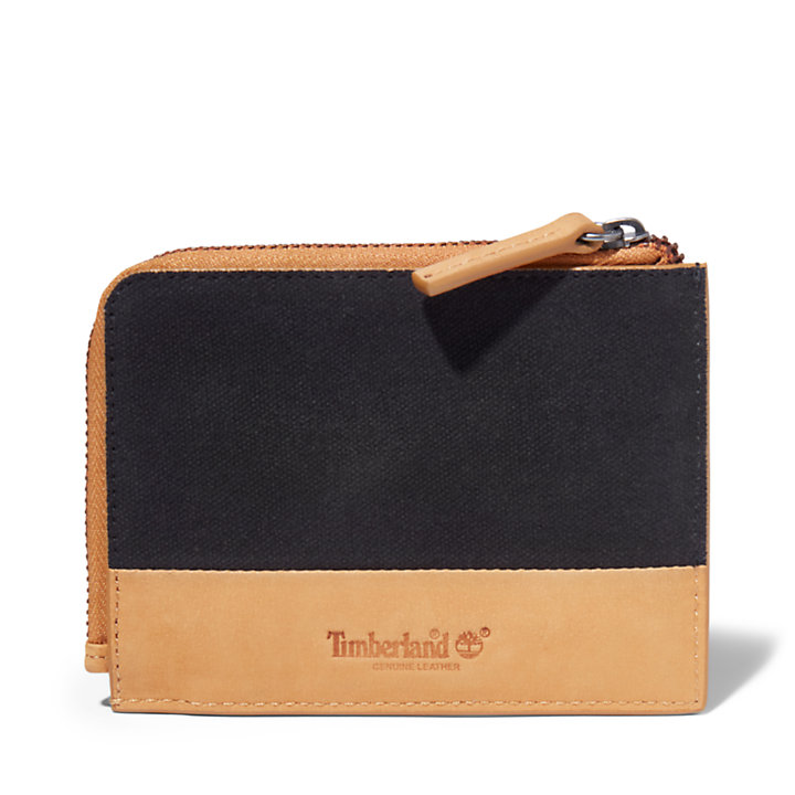 Braeburn Zipped Wallet for Men in Black-