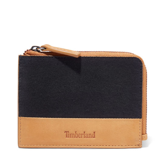 Braeburn Zipped Wallet for Men in Black | Timberland