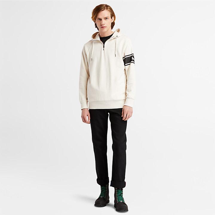 Sweat à capuche Moto Guzzi x Timberland® pour homme en blanc-