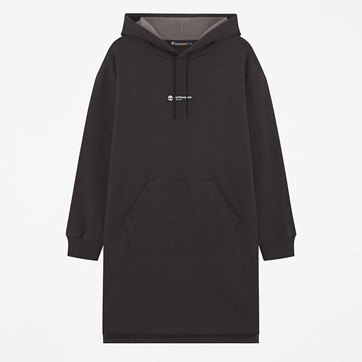 Earthkeepers® by Raeburn Oversized Hooded Dress for Women in Dark Grey-