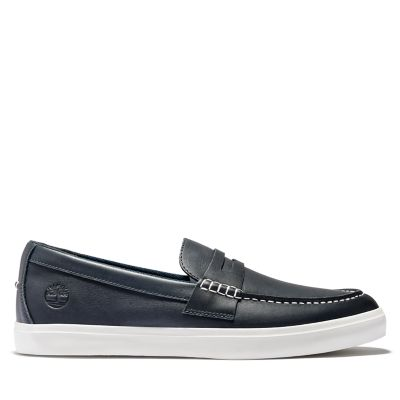 Union+Wharf+Penny+Loafer+for+Men+in+Navy
