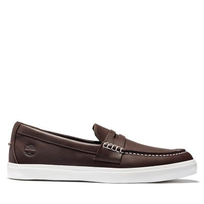 Union+Wharf+Penny+Loafer+for+Men+in+Brown