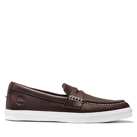 Union Wharf Penny Loafer for Men in Brown | Timberland