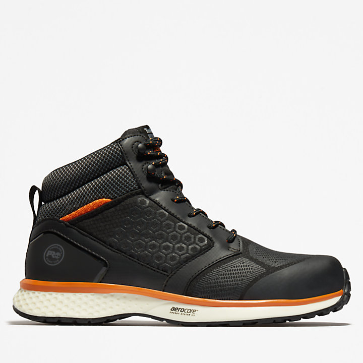 Timberland PRO® Reaxion Work Boot for Men in Black/Orange-