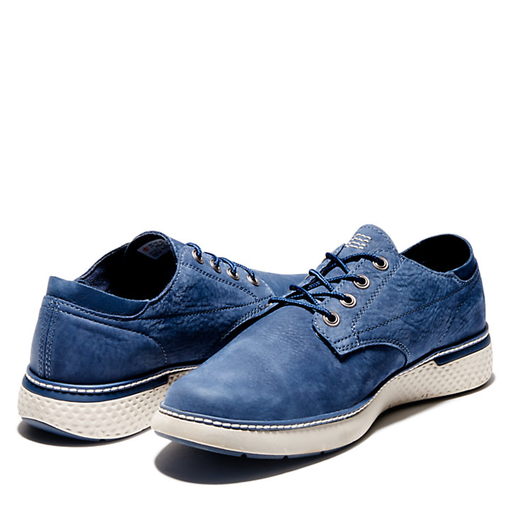 Cross Mark Oxford for Men in Navy-