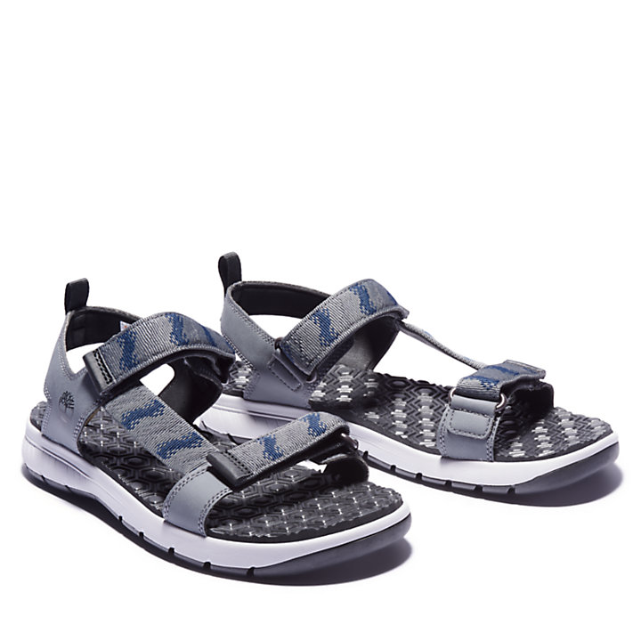 Governor's Island Sandal for Men in Grey-