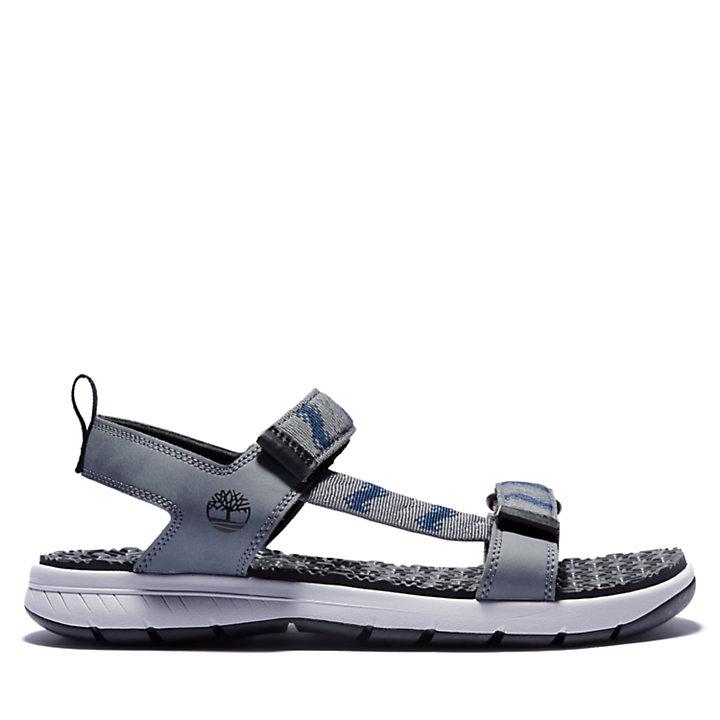 Sandalo da Uomo Governor's Island in grigio-