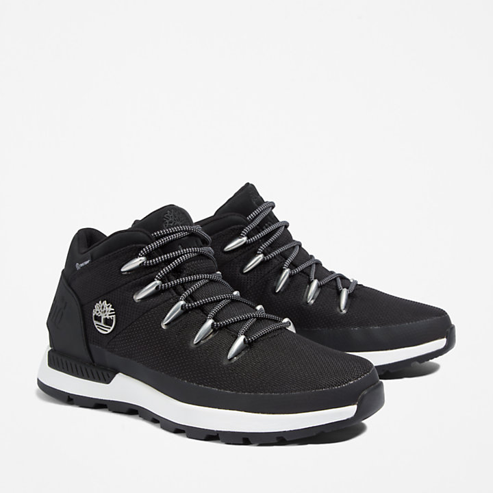 Sprint Trekker Mid Hiker for Men in Black-